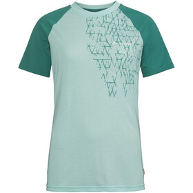 339aa70868f073 VAUDE Moab IV maglietta a maniche corte Donna verde
